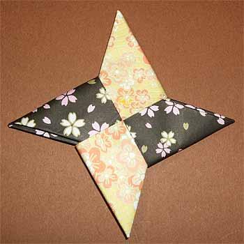 ハート 折り紙 折り紙で手裏剣 : origamisho.com