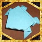 折り紙でぴょんぴょんカエルの折り方!遊べるカエルの簡単な作り方