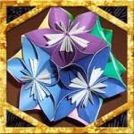 折り紙の花のくす玉の折り方!七夕飾りに60枚の作り方を紹介