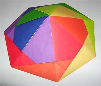 クリスマス 折り紙 折り紙傘の作り方 : origamisho.com