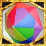 折り紙の傘の折り方!7枚で立体にする簡単な作り方は?