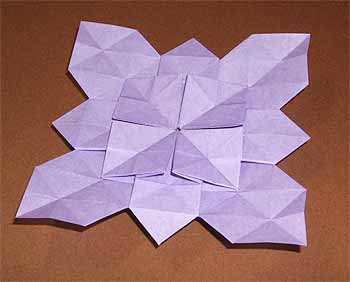 クリスマス 折り紙 あじさい 折り紙 : origamisho.com