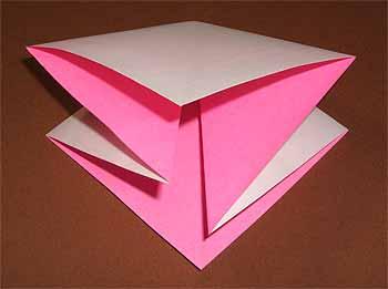 クリスマス 折り紙 折り紙 リボン 折り方 : origamisho.com