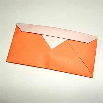 折り紙の 折り紙 財布の作り方 : origamisho.com