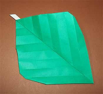 クリスマス 折り紙 折り紙 葉っぱ : origamisho.com