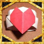 折り紙でハートの指輪の折り方!子供も簡単な作り方を紹介