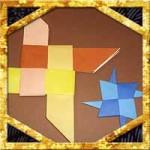 折り紙の手裏剣の折り方!4枚でかっこいい作り方を紹介