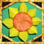 折り紙でひまわりの折り方!簡単立体的な作り方を紹介