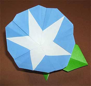折り紙の 朝顔の折り紙の折り方 : origamisho.com