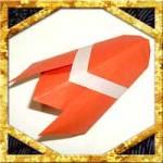 折り紙のセミの折り方!簡単に立体的にする作り方を紹介