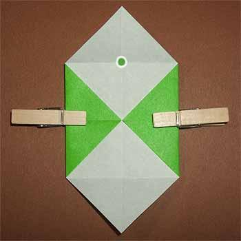 クリスマス 折り紙 折り紙 箱 簡単 : origamisho.com