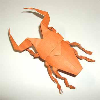 ハート 折り紙 折り紙クワガタの折り方 : origamisho.com