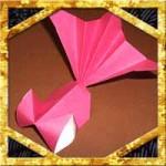 折り紙の簡単な金魚の折り方!夏にぴったりな立体的な作り方