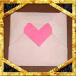 折り紙で封筒の簡単な折り方!ハート封筒の作り方も紹介