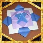 折り紙でこまの折り方!3枚で回して遊べる簡単な作り方