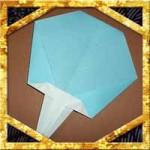 折り紙でうちわの折り方!夏にぴったり超簡単な作り方