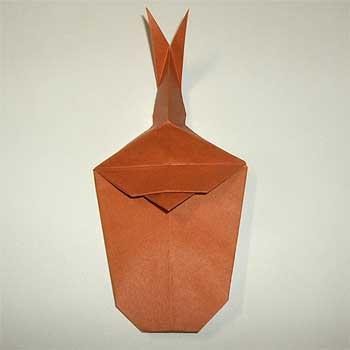 ハート 折り紙 : カブトムシ 折り紙 折り方 : origamisho.com