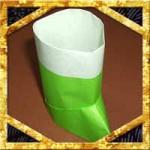 折り紙で立体長靴の折り方!クリスマスにも使える簡単な作り方