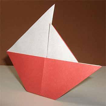 簡単 折り紙 折り紙 ヨット 折り方 : origamisho.com