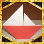 折り紙でヨットの折り方!子供も簡単な作り方を紹介