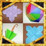 梅雨の季節の折り紙!簡単な折り方や作り方を色々まとめてます
