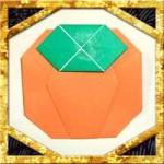 折り紙で柿の折り方!平面で簡単な作り方を紹介!