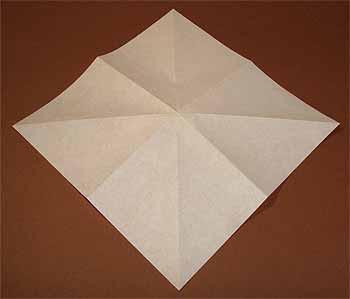 ハート 折り紙:折り紙キツネ折り方-origamisho.com