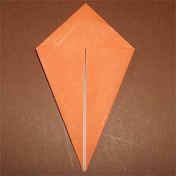 ハート 折り紙:折り紙 トンボの折り方-origamisho.com
