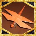 折り紙で立体トンボの折り方!子供も簡単とんぼの作り方を紹介