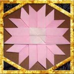 折り紙でコスモスの折り方!4枚で子供も超簡単な作り方
