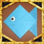 折り紙で魚の折り方!子供も超簡単な作り方を紹介