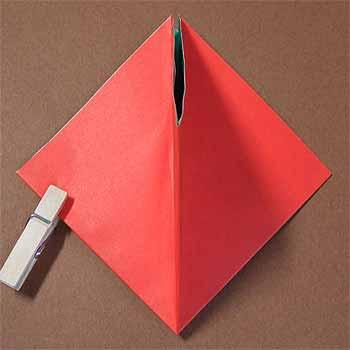 簡単 折り紙 両面折り紙 折り方 : origamisho.com