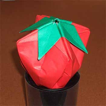 花 折り紙 折り紙 折り方 立体 : origamisho.com