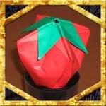 折り紙でいちごの折り方!簡単な立体の作り方を紹介