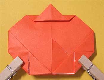 簡単 折り紙:折り紙 かぼちゃ-origamisho.com