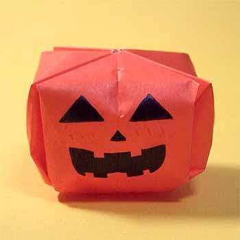 花 折り紙 折り紙 かぼちゃ 折り方 : origamisho.com