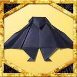 折り紙でこうもりの折り方!簡単なコウモリの作り方を紹介!