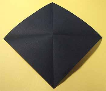 花 折り紙:ハロウィン折り紙作り方-origamisho.com