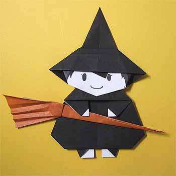 折り紙の:折り紙 コウモリ-origamisho.com