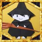 折り紙でハロウィンの魔女とほうきの折り方!簡単かわいい作り方