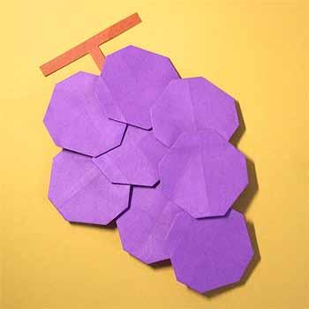 簡単 折り紙 秋の折り紙折り方 : origamisho.com