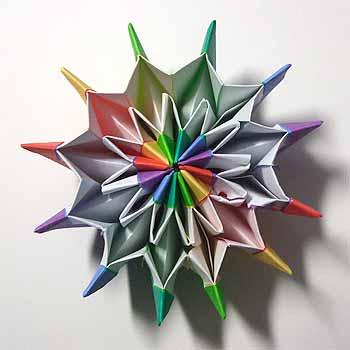 バラ 折り紙 : 夏の折り紙 : origamisho.com