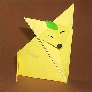 ハート 折り紙:りす 折り紙 折り方-origamisho.com