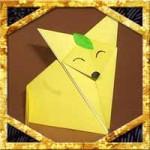 折り紙できつねの折り方!簡単立体風な作り方を紹介