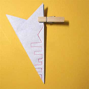 折り紙で雪の結晶の折り方作り方!簡単な切り方でクリスマスの