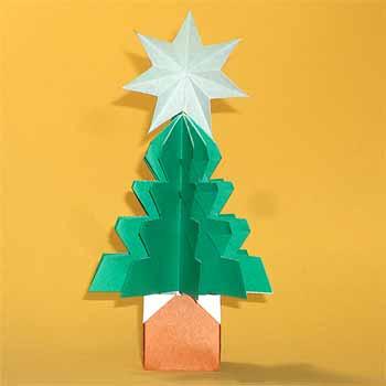 簡単 折り紙 クリスマスツリー折り紙簡単 : origamisho.com