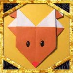 折り紙でトナカイの顔の折り方!簡単クリスマス飾りの作り方