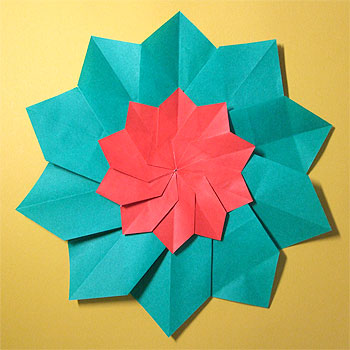 ハート 折り紙 クリスマス折り紙飾り作り方 : origamisho.com