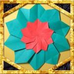 折り紙でポインセチアの折り方!リースの飾りに簡単な作り方