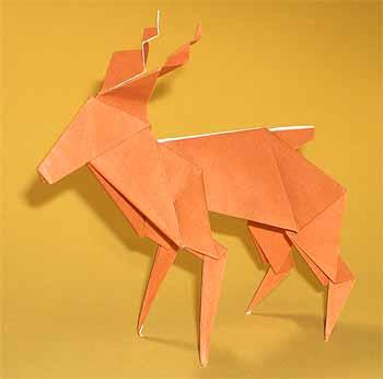 簡単 折り紙 トナカイ 折り紙 簡単 : origamisho.com